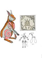 The Lepus Cloth - colors by talentualEmbrace