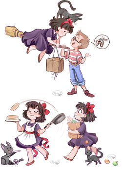 Kiki's Delivery Service by sharkie19