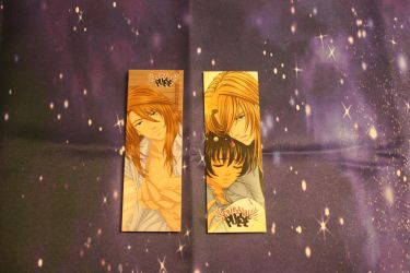Celestial Pulse Bookmarks (Back) by Vesenia