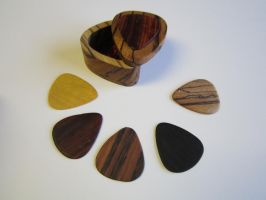 Pick box and wood picks by DMSscroller