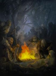 Orcs by Julaxart