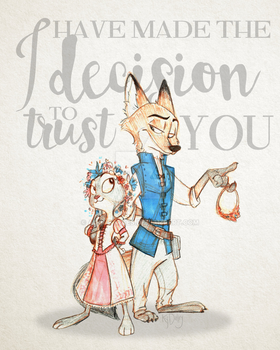 A Horrible Decision, Really [ZOOTOPIA] by AugustRaes