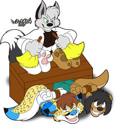 Feather Dusting by Marquis2007