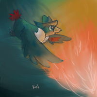 Honchkrow speedpaint