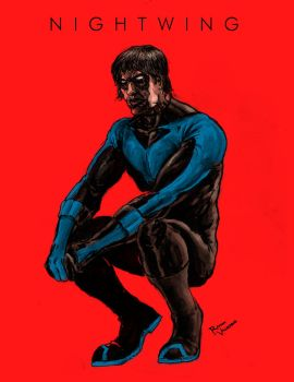 .Nightwing. by RamonVillalobos
