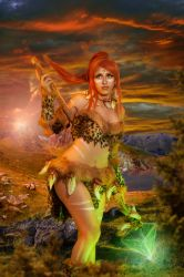 cosplay nidalee from league of legends 2 by Lucy-Dark-Dreams