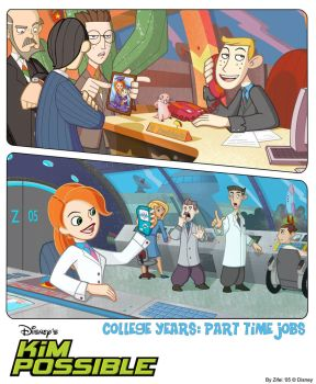 College Years: Part Time Jobs by ziwu