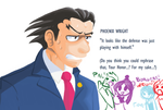 Phoenix Wright: Ace Attorney by Scarlet-Ajani