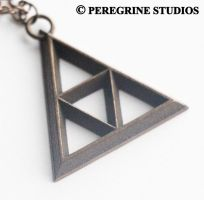 Pendant - TriForce (Smooth Base) by PeregrineStudios