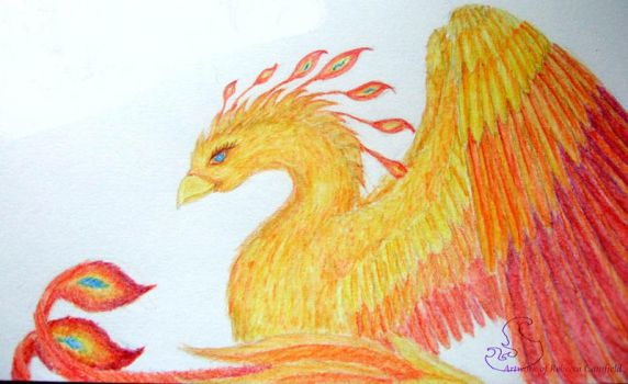 firebird-creature feature by chaosia