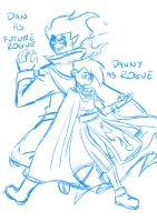 Sketch DP crossover FT by paurachan