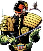 Judge Dredd The Complete Brian Bolland by CharlieKirchoff