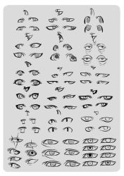 Eye Reference. by moni158