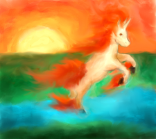 Rapidash for Devilangelwolf27
