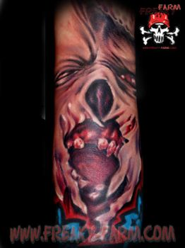 D.D. - elbow kiss by D-D-Tattoo