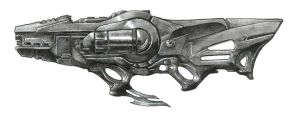 Celestial Rifle by AlphonseCapone