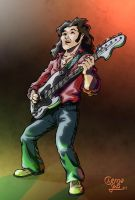 Guitar Guy revisited by ChemaIllustration