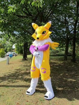 Renamon Cosplay by Plasticdolly11