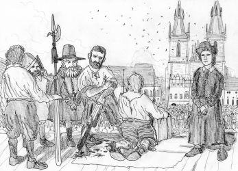 Day of Blood, Prague, 21 June 1621 by FritzVicari