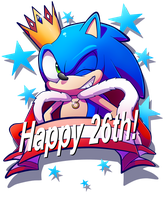 Sonic 26th Anniversary! by Kelskora
