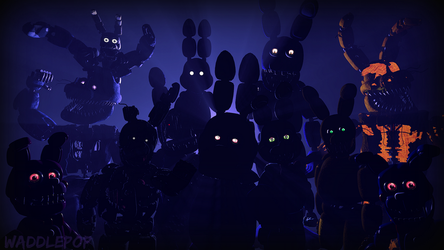 Bonnie Generations (Alternate) [Speedart] by witheredfnaf