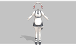 MMD V3 Maid -Updated- by amiamy111