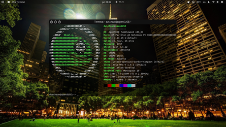 openSUSE Tumbleweed by duschaan