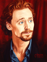 Tom Hiddleston by Troven