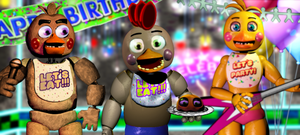 Chico's fun arcade by FreddyFredbear