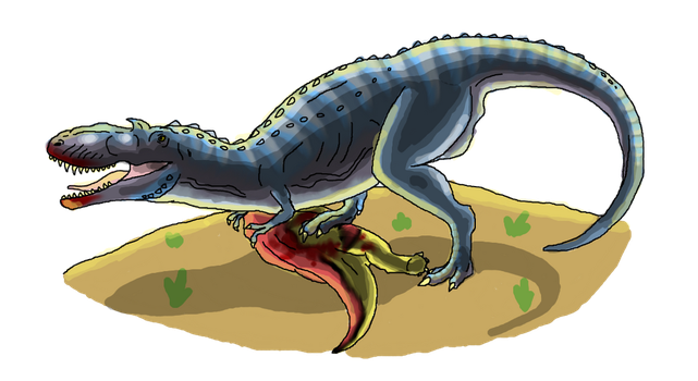 Walking With Dinosaurs The 3D Movie: The Gorgon. by Creepy-Stag-Waffle