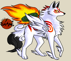 Okami by angelasamshi