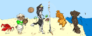 Volley Dogs by Monseo