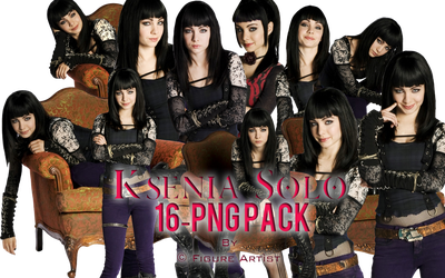 Ksenia Solo PNG Pack 16 by Figure Artist by Patatabollente