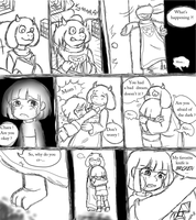 Comic Undertale by Prasiolite