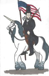 Lincoln Unicorn by DWestmoore