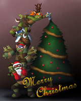 Decorating the Christmas Tree by Spirael