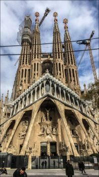 Sagrada Famila, Barcelona by apple-yigit-jack