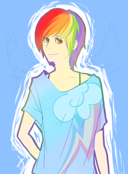 RainbowDash by Dobasobabob0
