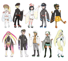 [MMD] Pokemon- Senbonzakura model concepts UPDATE by Gameaddict1234