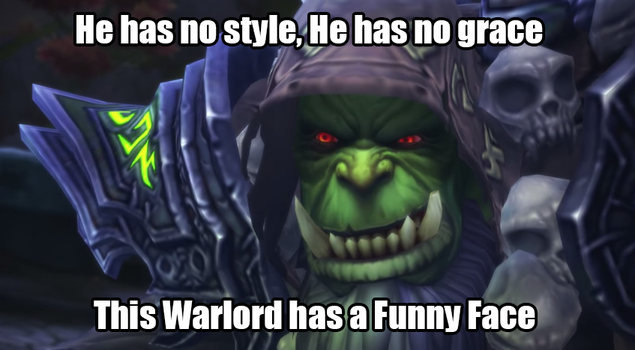 WoW Warlords of Draenor Meme by alienhominid2000