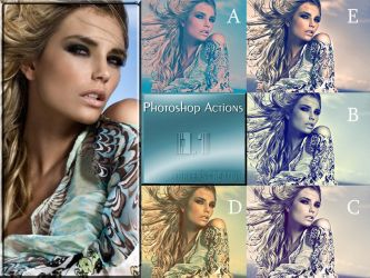 Photoshop Actions pack 1 by ReehBR