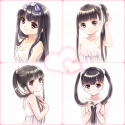 Which hairstyle do you like? by loli-drop