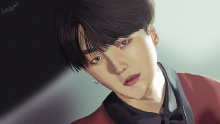 BTS Wings concept - Suga by Anicrystal