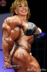 Milly Carlucci, beauty and supermuscles by saitta4