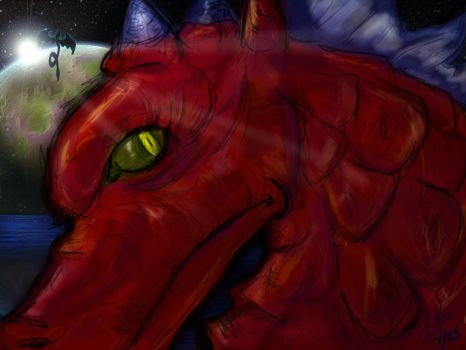 Red Dragon by Triserao