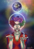 Consciousness on Earth by vervex