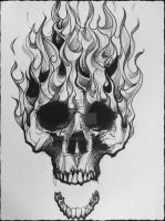 Burn Skull Burn by Demon1984