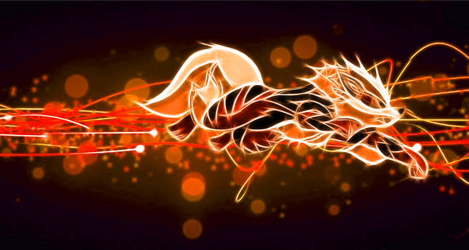Arcanine Wallpaper by Viatrice