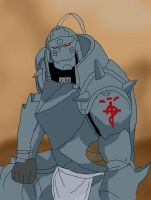 Alphonse Elric by RuzMustang