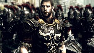Skyrim: Damocles and his Imperial troops by BLACKWOLF56607708